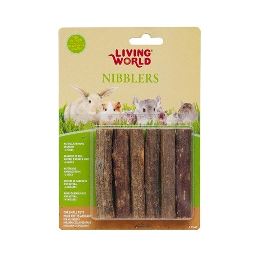 Living World Nibblers Wood Chews - Kiwi Stick (61469)