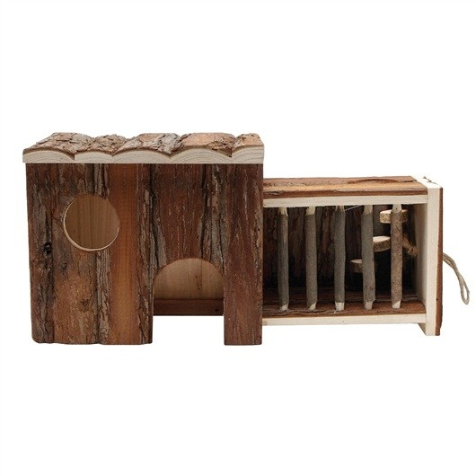Living World Tree House Real Wood - Pull Out House (61506)