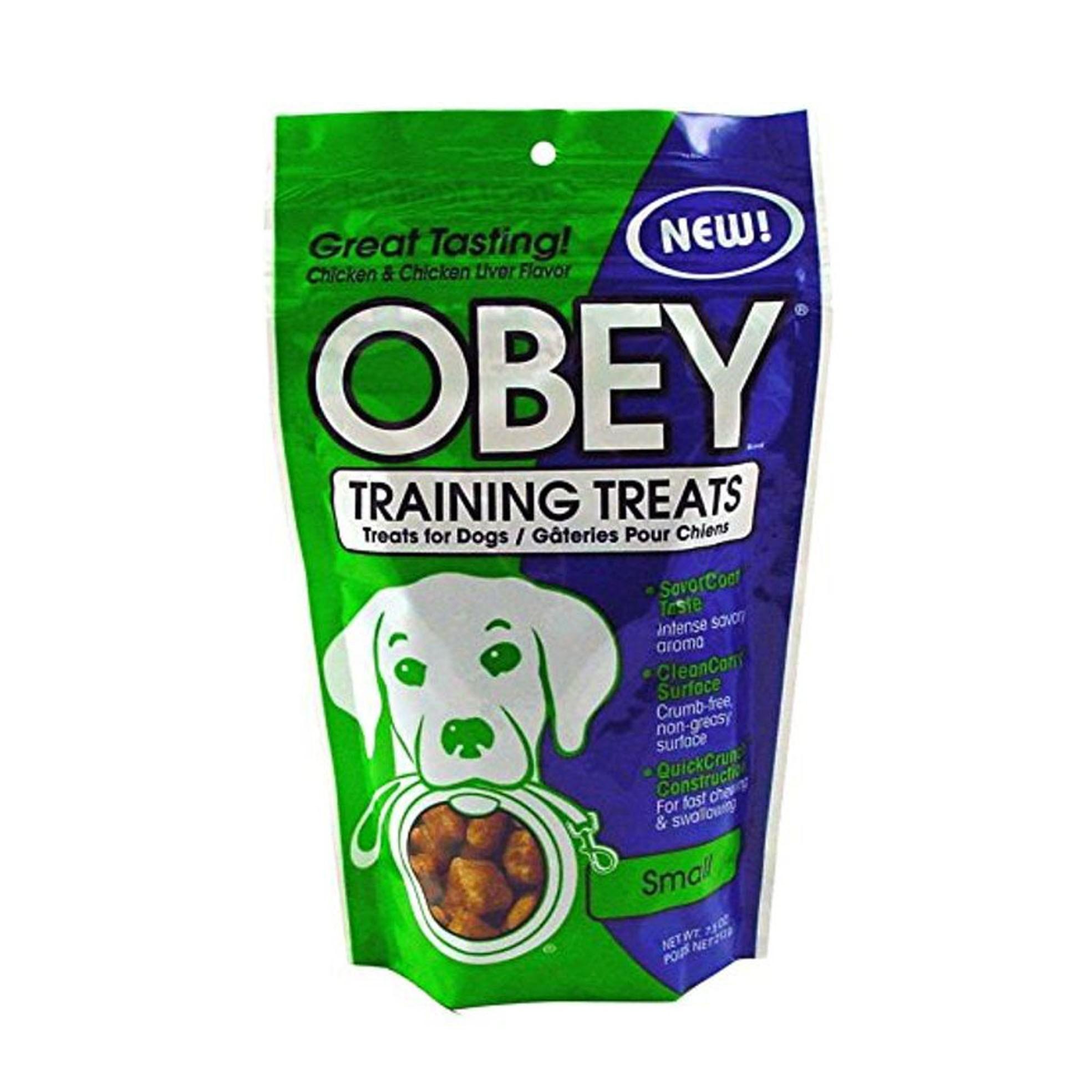 STEWART® OBEY TRAINING TREATS CHICKEN & LIVER - 7.5 OZ [9421]