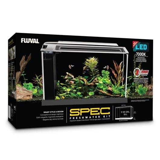 Fluval Spec Aquarium Kit White 19L (10518)