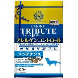 Canine Tribute Allergen Control Fish & Potato For Adult 2.7kg 900gx3 (114683)