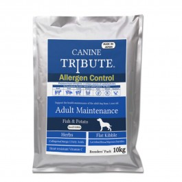 Canine Tribute Allergen Control Fish & Potato For Adult 10kg (Breeders' Pack) [113310]