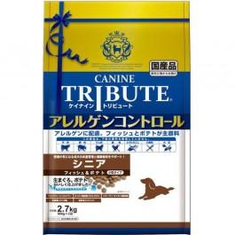 Canine Tribute Allergen Control Fish & Potato For Senior 2.7kg 900gx3 (114706)