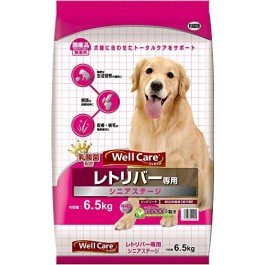 Well Care Golden Retriever Dry Dog Food for Senior Dogs - 6.5kg [115260]