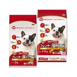 Well Care French Bulldog Dry Dog Food - 1kg x 3 packs [115314]