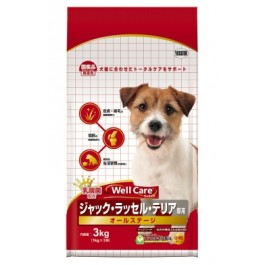 Well Care Jack Russell Terrier Dry Dog Food - 1kg x 3 packs [115376]
