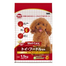 Well Care Toy Poodle Dry Dog Food - 500g x 3 packs
