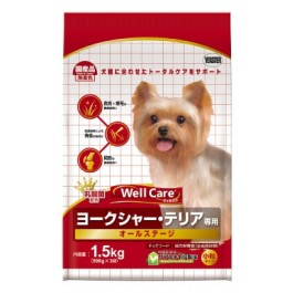 Well Care Yorkshire Terrier Dry Dog Food - 500g x 3 packs (115574)