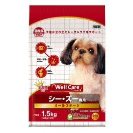 Well Care Shih Tzu Dry Dog Food - 500g x 3 packs