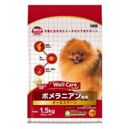 Well Care Pomeranian Dry Dog Food - 500g x 3 packs