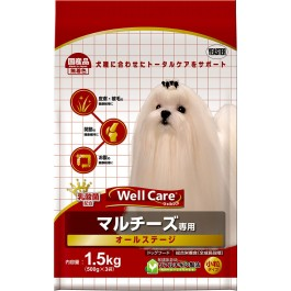 Well Care Maltese Dry Dog Food - 500g x 3 packs [115611]