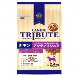Canine Tribute Chicken Active Senior (800gx3) 2.4kg [116137]