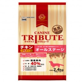 Canine Tribute Chicken All Stage Small Kibble (800gx3) 2.4kg [116168]