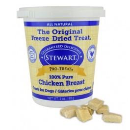 STEWART® PRO-TREAT FREEZE DRIED CHICKEN BREAST TUB - 3 OZ