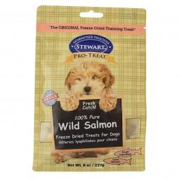 STEWART® PRO-TREAT FREEZE DRIED WILD SALMON POUCH - 8 OZ [401710]