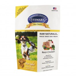 STEWART® RAW NATURAL FREEZE DRIED CHICKEN WITH BERRIES AND FLAXSEED - 4OZ [401953]