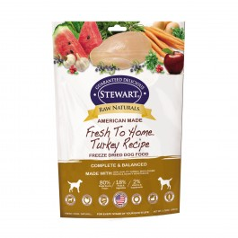 STEWART® RAW NATURAL FREEZE DRIED TURKEY RECIPE 3.75 OZ [402763]