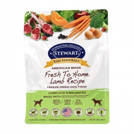 STEWART® RAW NATURAL FREEZE DRIED LAMB RECIPE 24 OZ [402865]