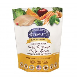 STEWART® RAW NATURAL FREEZE DRIED CHICKEN RECIPE 12 OZ [402962]