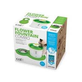 Catit Flower Fountain and Peanut Placemat Combo (43730)