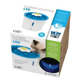 Catit Flower Fountain LED nightlight 3L (43747)