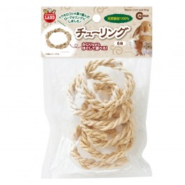 Marukan Woven Corn Leaf Ring 6pcs (MR851)