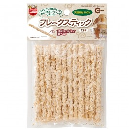 Marukan Bamboo Stick with Corn Leaf Flakes 12pcs (MR852) (NEW ITEM)