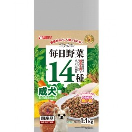 Sunrise Gonta 14 vegetables daily for adult dogs 1.1 kg (934100)
