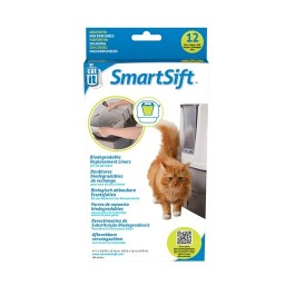 Catit Design SmartSift Biodegradable Replacement Liners - 12-pack For Cat Pan Base