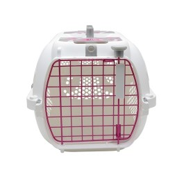 Catit Style Profile Voyageur Cat Carrier - Pink Ribbon, Small (50889)