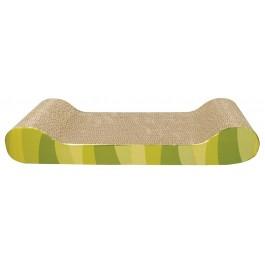Catit Style Patterned Cat Scratcher with catnip - Jungle Stripes, Lounge [52417]