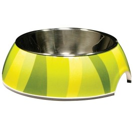 Catit Style 2-in-1 Cat Dish, Jungle Stripes (160ml / 5.4 fl oz) (54526)