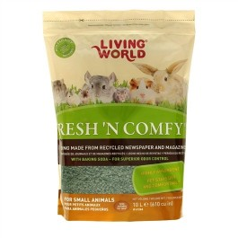 10L LIVING WORLD FRESH N COMFY BEDDING - GREEN [61268]