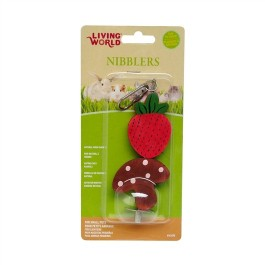 Living World Nibblers Wood Chews - Strawberry and Mushroom [61475]