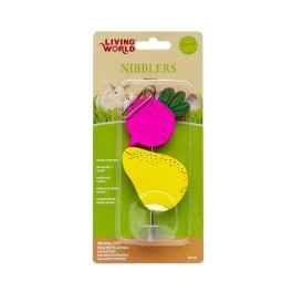 Living World Nibblers Wood Chews - Beet and Pear (61477)