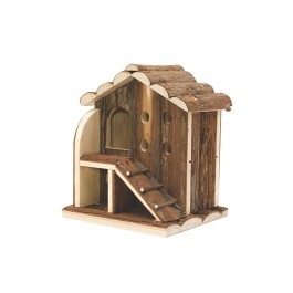 LIVING WORLD TREE HOUSE REAL WOOD - 2 LEVELS [61505]