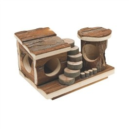 Living World Tree House Real Wood - Activity Centre (61507)
