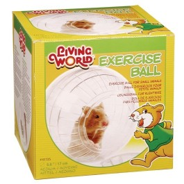 Living World Exercise Ball with Stand - Medium [61725]
