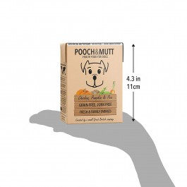 Pooch & Mutt Chicken, Pumpkin & Pea Grain-Free Wet Food 375g