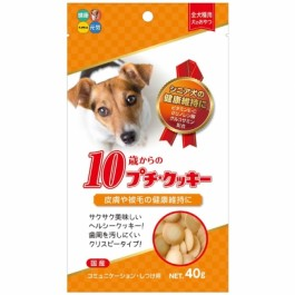 Hipet Petite Cookie for Health 10year Dog 40g (HI72391)