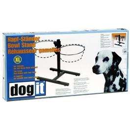 Dogit Adjustable Dog Bowl Stand - Extra Large - Fits 2 x 4L (135 oz) dog bowls (73497)