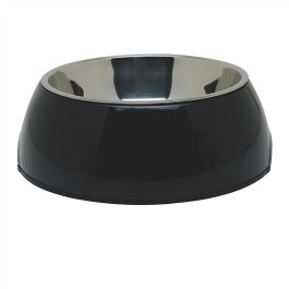Dogit 2-in-1 Dog Dish, Large,Black (1.6L / 54.1 fl oz) (73556)