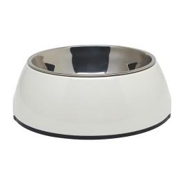 Dogit 2-in-1 Dog Dish, Large, White (1.6L / 54.1 fl oz) (73557)