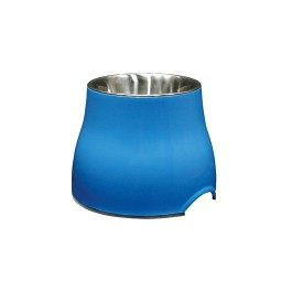 Dogit Elevated Dog Dish-Blue, Large (900ml/30.4 fl oz) [73751]