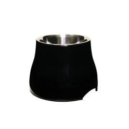 Dogit Elevated Dog Dish-Black, Large - 900ml (30.4 fl oz) [73752]