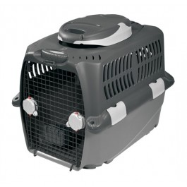 "Dogit Design Cargo Dog Carrier-Gray, XXlarge (120 cm L x 83 cm W x 88 cm H / 47.5"" x 33"" x 35"") (76745)"