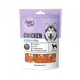 Jerky Time Chicken with Calcium Bone for Dogs 80g (JT810179)