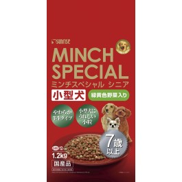SUNRISE SEMI-MOIST MINCH SPECIAL SENIOR 7+ SMALL BREED CHICKEN & VEGETABLE - 1.2KG
