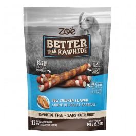 Zoë Better Than Rawhide BBQ Chicken Twists 12pcs 148g (92066)