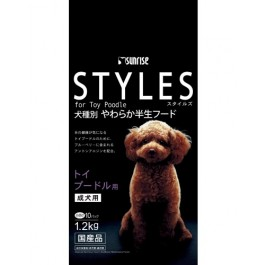 Sunrise Styles For Adult Toy Poodle 1.2kg (924262)